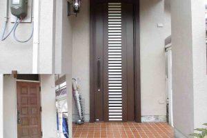 N様邸 玄関リフォーム(カバー工法) リフォーム 玄関リフォーム