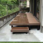 Y様邸 ウッドデッキ(樹脂デッキ) リフォーム 庭・ガーデンリフォーム