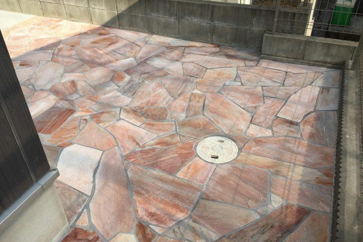 D様邸 タイル天然石工事 リフォーム 庭・ガーデンリフォーム